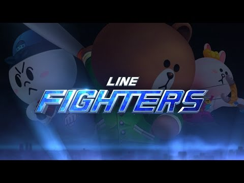 LINE FIGHTERS - Promotion