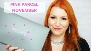 Pink Parcel November Beauty & Period Subscription Box Unboxing