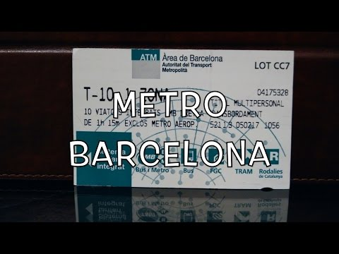 Buying and Using Metro Tickets in Barcelona