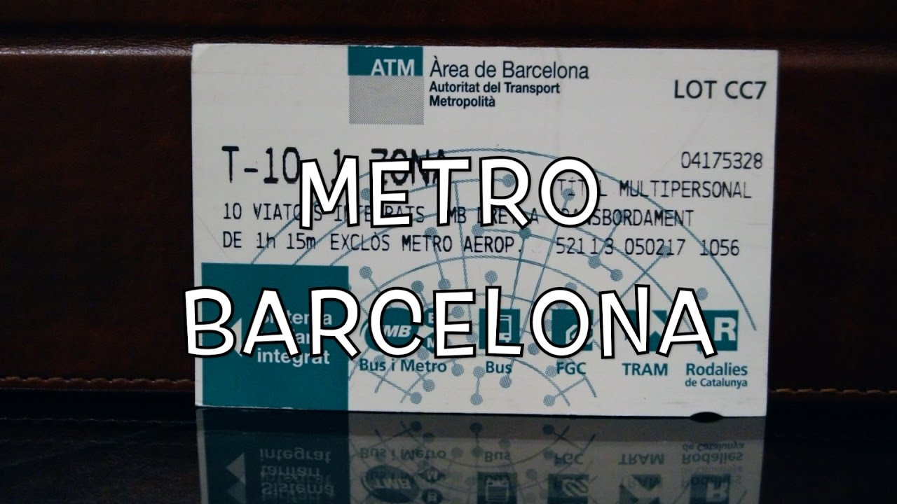 buying and using metro tickets in barcelona youtube. Black Bedroom Furniture Sets. Home Design Ideas