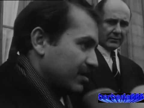 Le jeune Abdelaziz Bouteflika reçu par de Gaulle pour une mission top secret (1964).flv