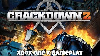 Crackdown 2 - Xbox One X Backwards Compatible Gameplay
