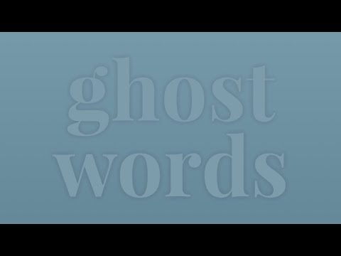 Ghost Word - Merriam-Webster Ask the Editor - YouTube