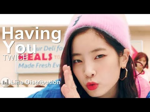 TWICE - Having You | Line Distribution