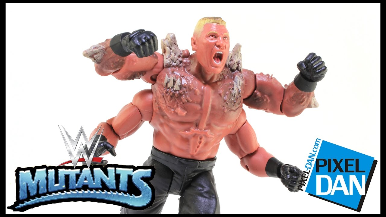 Brock Lesnar Wwe Mutants Mattel Action Figure Video Review