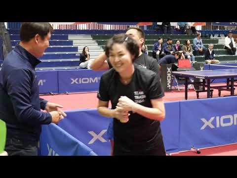 탁구 뉴질랜드:말레이시아 Table Tennis Game New Zealand : Malaysia