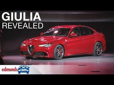 2017 Alfa Romeo Giulia Quadrifoglio North American Premiere - Los Angeles Auto Show
