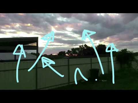 Nibiru sunset captured 13 July 2017 Adelaide South Australia