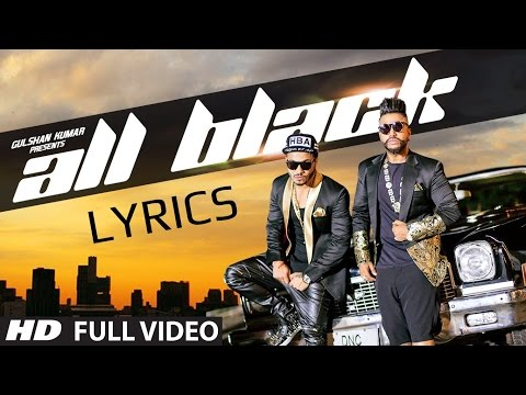 ALL BLACK RAFTAAR ft. SUKHE - FULL SONG WITH LYRICS