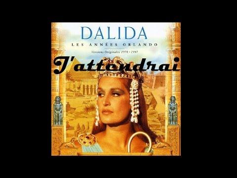 Dalida - J'attendrai - Lyrics