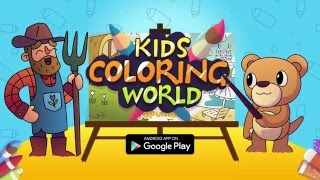 Papumba - Kids Coloring World trailer for Google Play