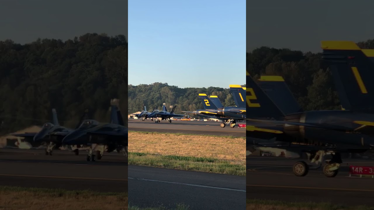 BLUE ANGELS: Seafair arrival at Boeing Field tonight | West
