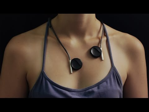 Liron Gino designs Vibeat listening device for the hearing impaired