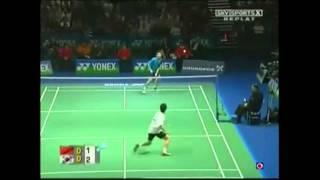 all england open 2006 msf lin dan vs lee hyun il part 1