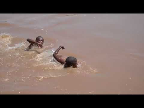 Butalejja boys hold swimming competition. African Americans Must Learn To Swim.