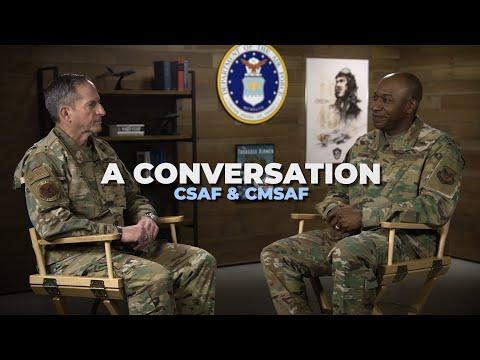 A Conversation - CSAF Gen Goldfein & CMSAF Wright
