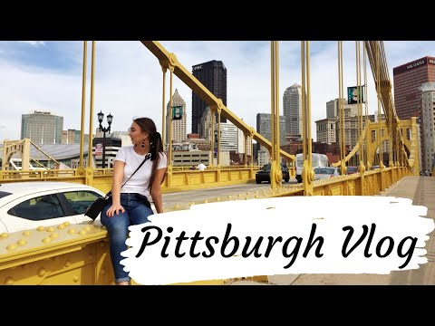 PITTSBURGH, PA IN 24 HOURS // Travel Vlog♡