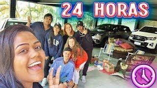 24 HORAS NA GARAGEM !!!