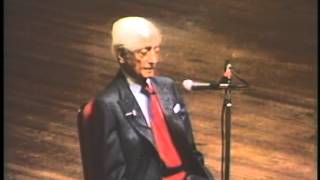 J. Krishnamurti - Washington DC 1985 - Public Talk 2 - At the end of sorrow is passion(, 2014-01-07T20:30:02.000Z)