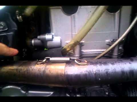 DRZ oil overflow crankcase vent tube mod explained