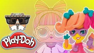 Play Doh • LOL Surprise • Koci weterynarz • bajki dla dzieci