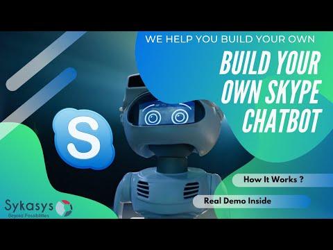 AI Driven Skype Chat Bot Demo