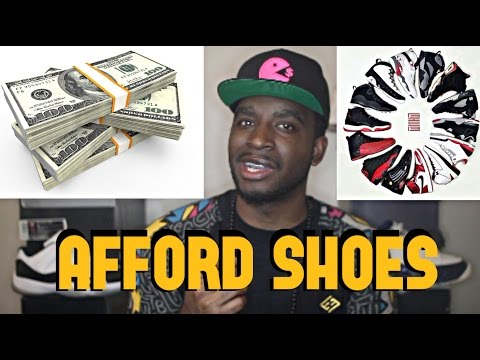 How To Afford Sneaker Tips + FREE shoe giveaways