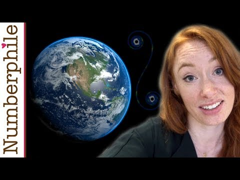 A Strange Map Projection (Euler Spiral) - Numberphile