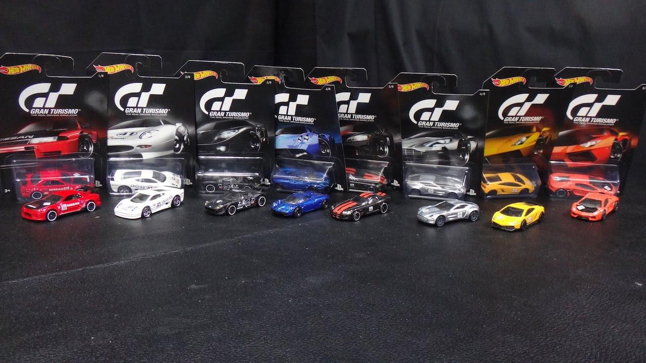 Hot Wheels Gran Turismo 8-Car Set Nissan Skyline, Jaguar ...