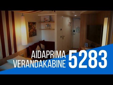Verandakabine aida  AIDA prima Verandakabine - YouTube