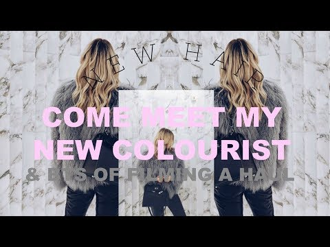 COME MEET MY NEW COLOURIST & SEE MY NEW HAIR | BTS FILMING A HAUL | IAM CHOUQUETTE