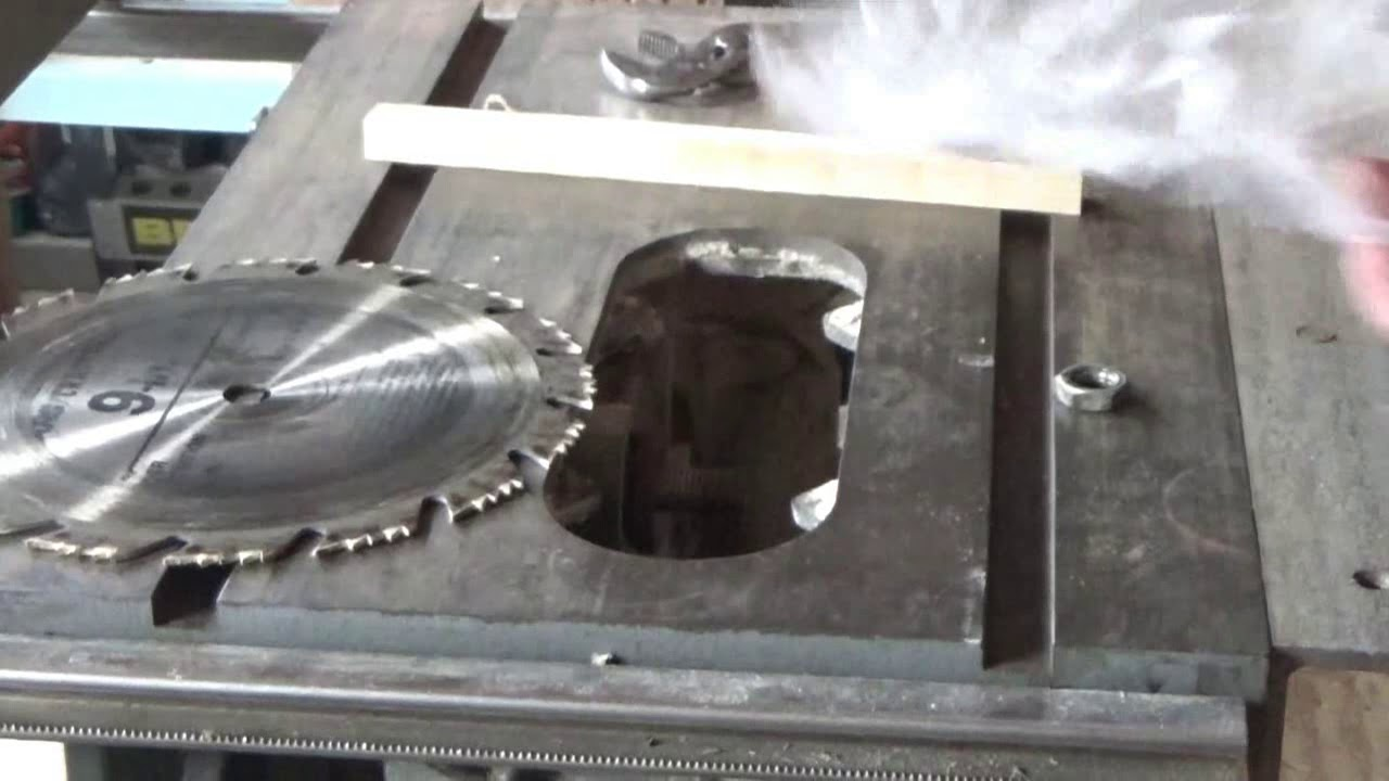 How to change a table saw blade youtube how to change a table saw blade greentooth Images