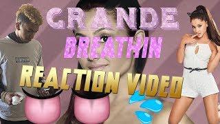 ARIANA Grande Breathin Reaction Video !!!!  Mac Miller Tribute