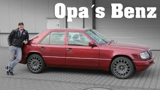 OK-Chiptuning - Mercedes-Benz 250D W124 | Opa´s Benz