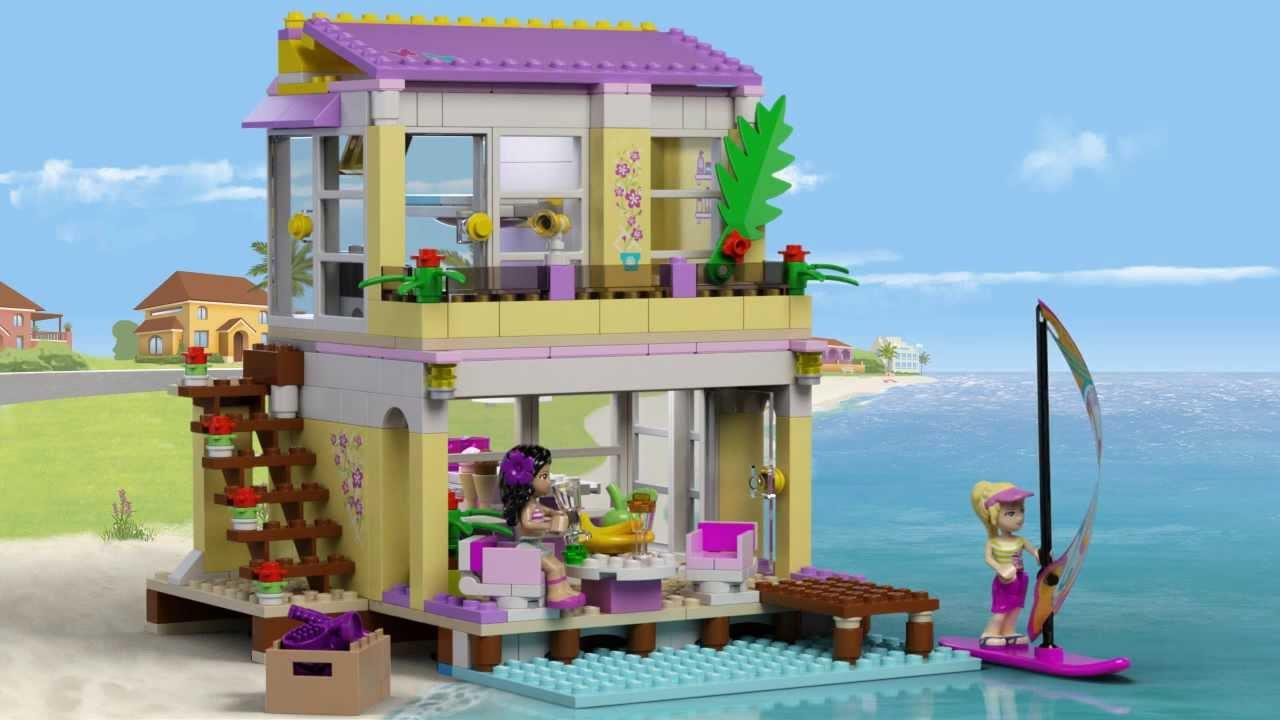Ɩ�蒂芬妮的沙灘小屋 Stephanie S Beach House ƨ�高 ť�朋友 Lego Friends