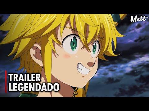 Nanatsu no Taizai (O Filme): Cursed by Light | Trailer Oficial Legendado