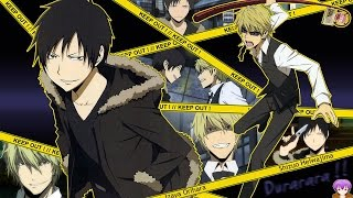 durarara!! Full Series Review !! - Izaya = Joker