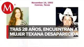 Hallan en Monterrey a mujer originaria de Texas que desapareció hace 28 años