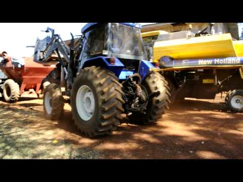 New Holland Ts 120/Big Bag