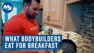 What Bodybuilders Eat For Breakfast | Steve Kuclo