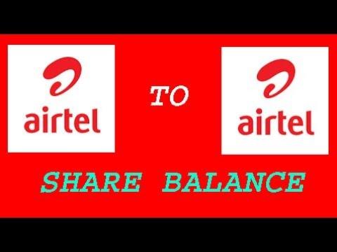 How to Balance transfer Airtel to Airtel In Hindi 2018 thumbnail