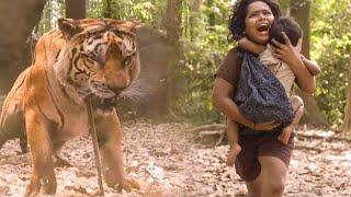 Mohanlal Best Tiger Fight Scene | Kamalinee Mukherjee | Namitha | Lal | Chalana Chitram