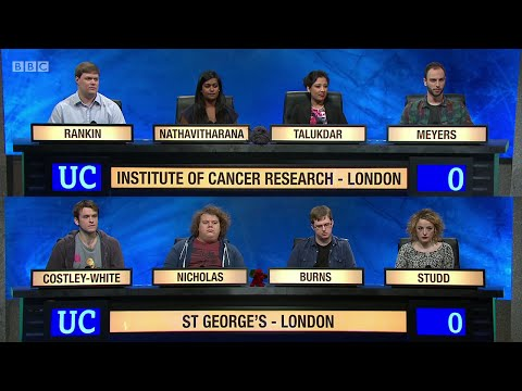 University Challenge S45E06 - The Institute of Cancer Research vs St George's