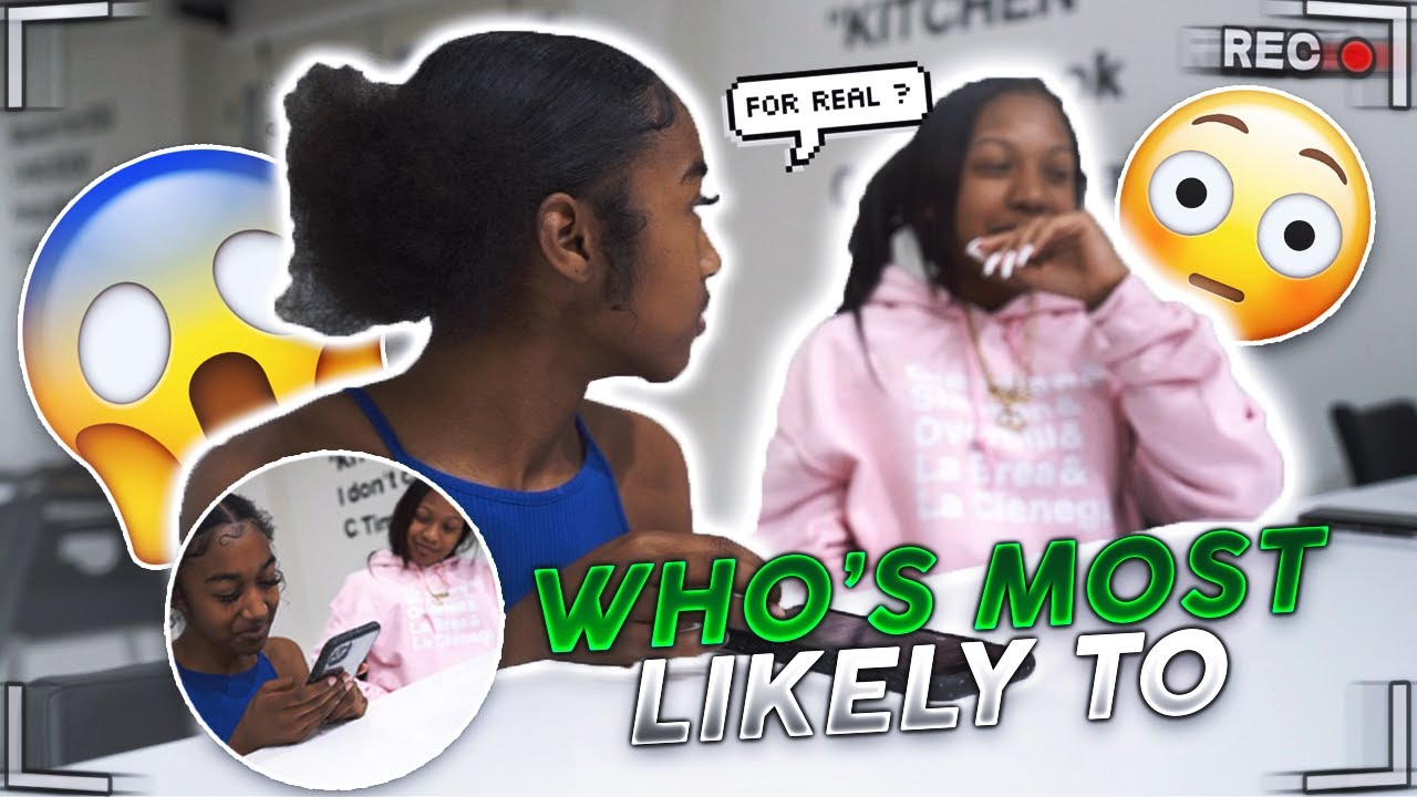 WHO'S MOST LIKELY TO...with my BFF Brooklyn