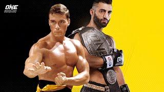 Giorgio Petrosyan vs. Jean-Claude Van Damme | ONE@Home Fantasy Fights