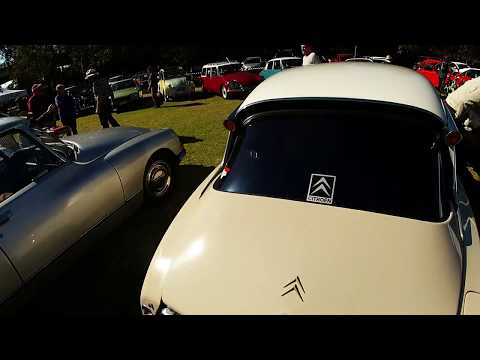 Sydney French Car Display Day 2014 - Classic Citroens