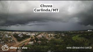 Evolução de chuva em Carlinda/MT, veja a formação - 20/01/21
