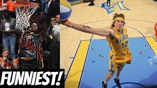 NBA FUNNIEST & WORST Dunk Contest Fails!