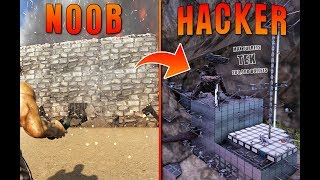 Transforming A Noobs Base Into A Hacker's Base | Ark Flippers E3