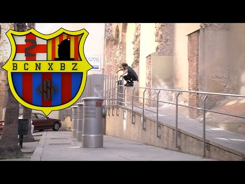 Eugen Enin - BCN x BZ - USD Skates go MENTAL in Barcelona